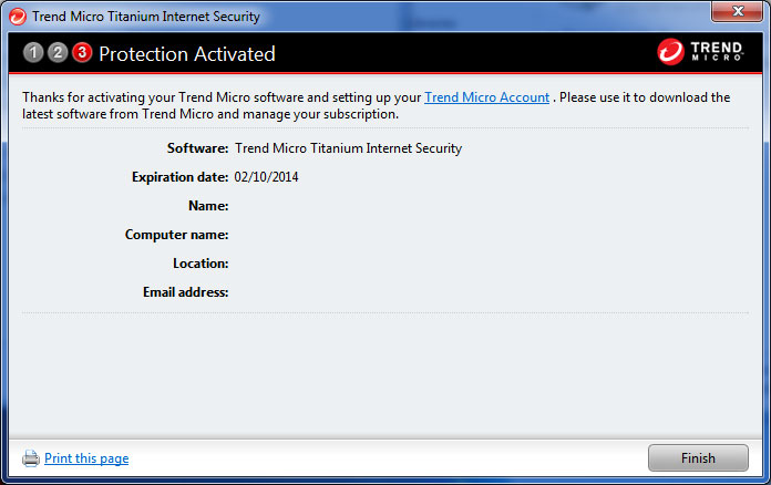 How To: Install Trend Micro Internet Security Software