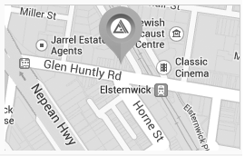 Find us at 253 Glen Huntly Road, Elsternwick VIC 3185