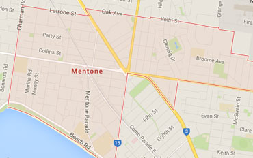 Mentone Regional Outline according to Google Data 2015