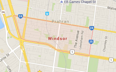 Windsor Regional Outline according to Google Data 2015